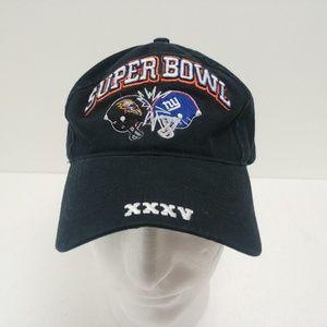 Puma Super Bowl XXXV Strapback Hat Cap Black NFL